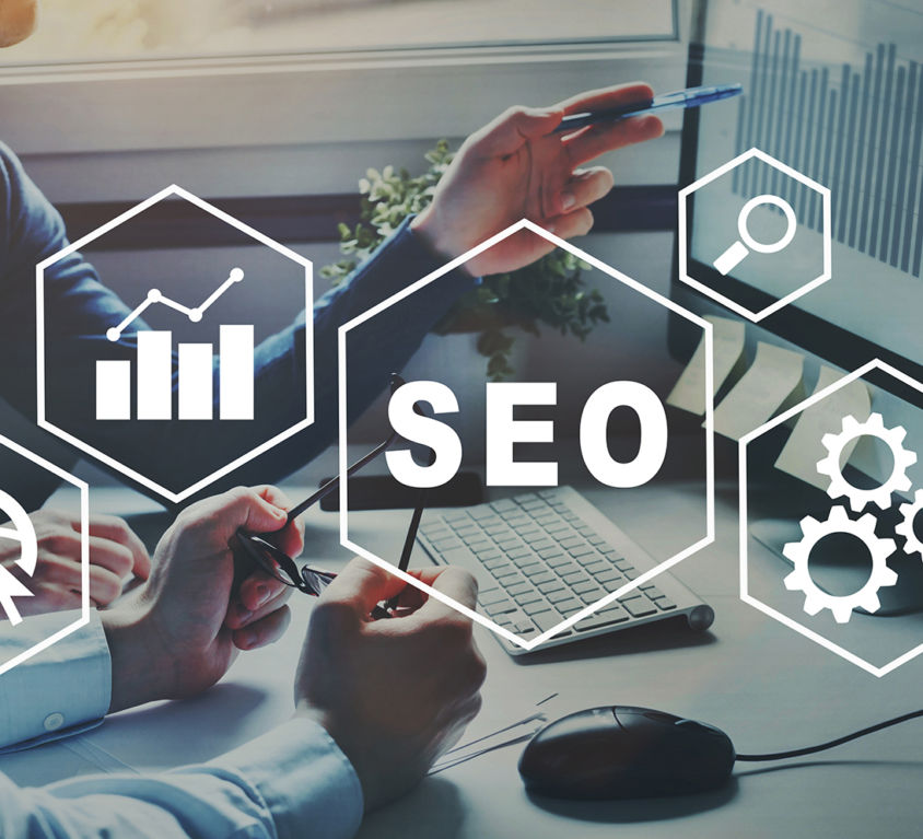 SEO Search Engine Optimization concept, ranking traffic on websi
